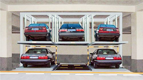 Parking Flow Of Lifting And Moving Mechanical Parking Equipment